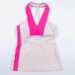 Lululemon Athletica pink tank